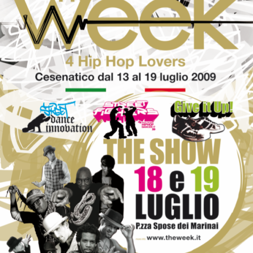 The Week 2009 Street Dance Summer Camp Cesenatico Italy Workshop Stage Hip Hop Festival