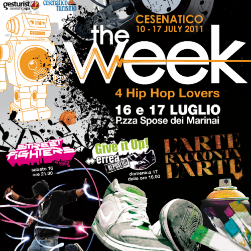 The Week 2011 Street Dance Summer Camp Cesenatico Italy Workshop Stage Hip Hop Festival