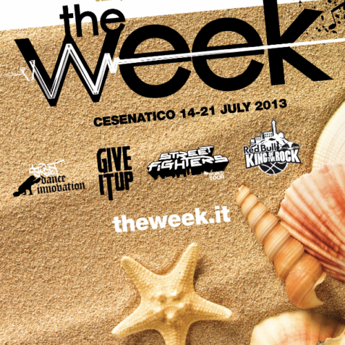 The Week 2013 Street Dance Summer Camp Cesenatico Italy Workshop Stage Hip Hop Festival