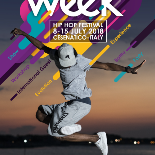 The Week 2018 Street Dance Summer Camp Cesenatico Italy Workshop Stage Hip Hop Festival