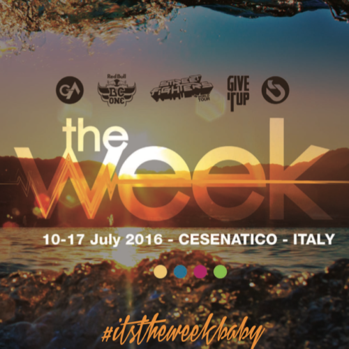 The Week 2016 Street Dance Summer Camp Cesenatico Italy Workshop Stage Hip Hop Festival