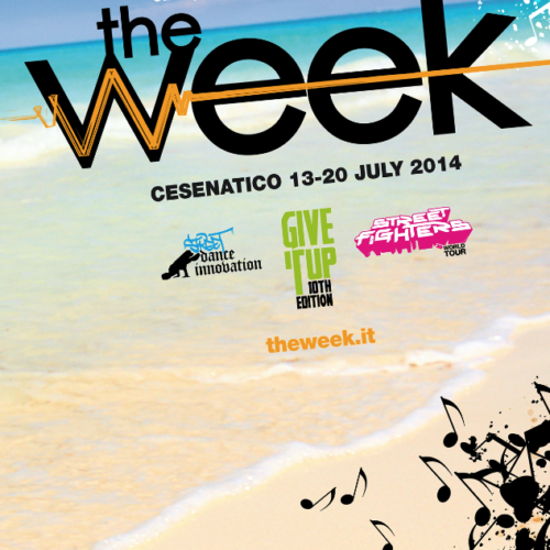 The Week 2014 Street Dance Summer Camp Cesenatico Italy Workshop Stage Hip Hop Festival
