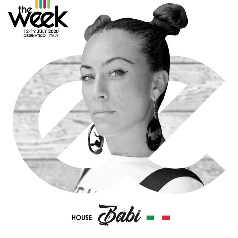Babì House The Week The WeeKidz Street Dance Summer Camp Cesenatico Italy Workshop Stage Hip Hop Festival