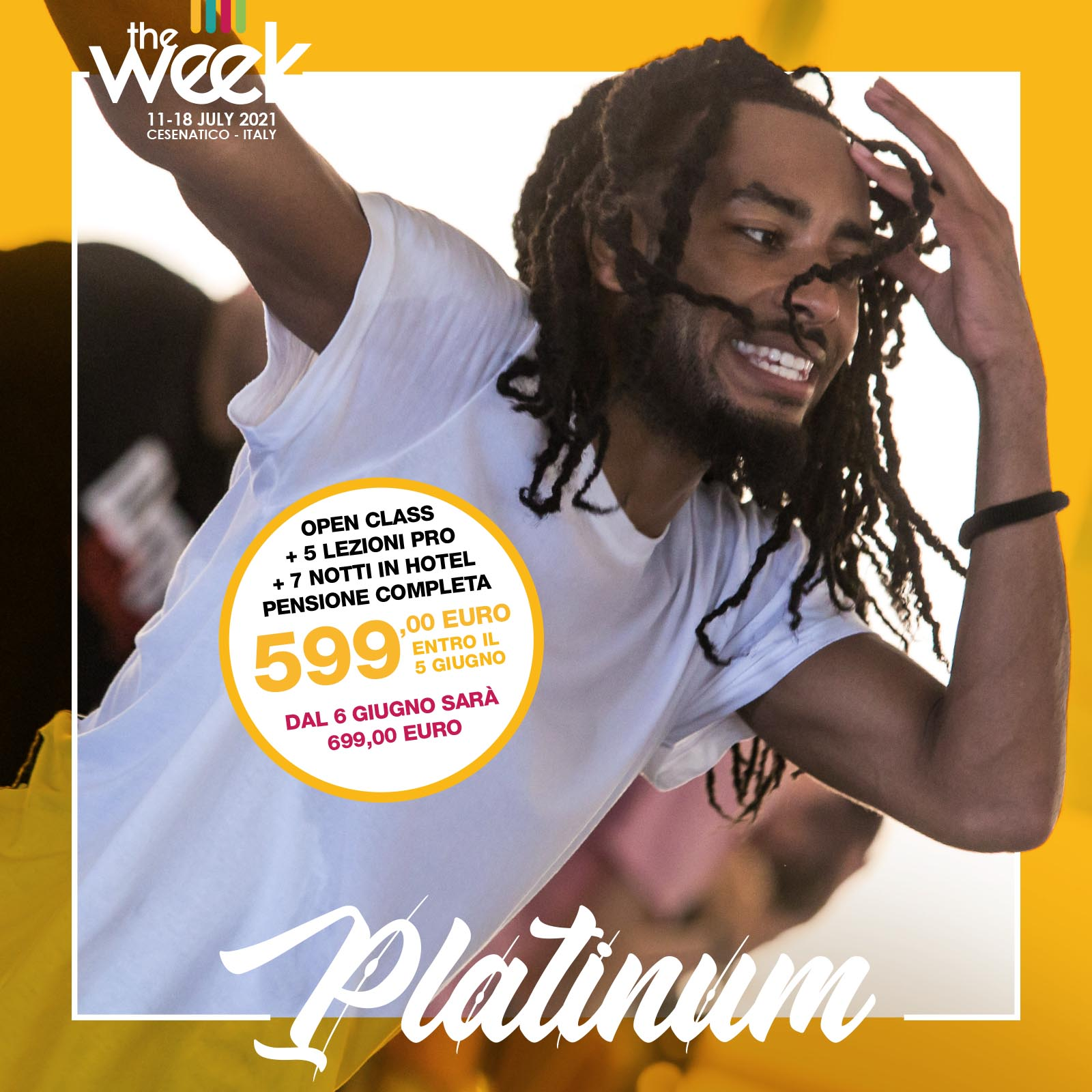 Platinum Card The Week The WeeKidz Street Dance Summer Camp Cesenatico Italy Workshop Stage Hip Hop Festival