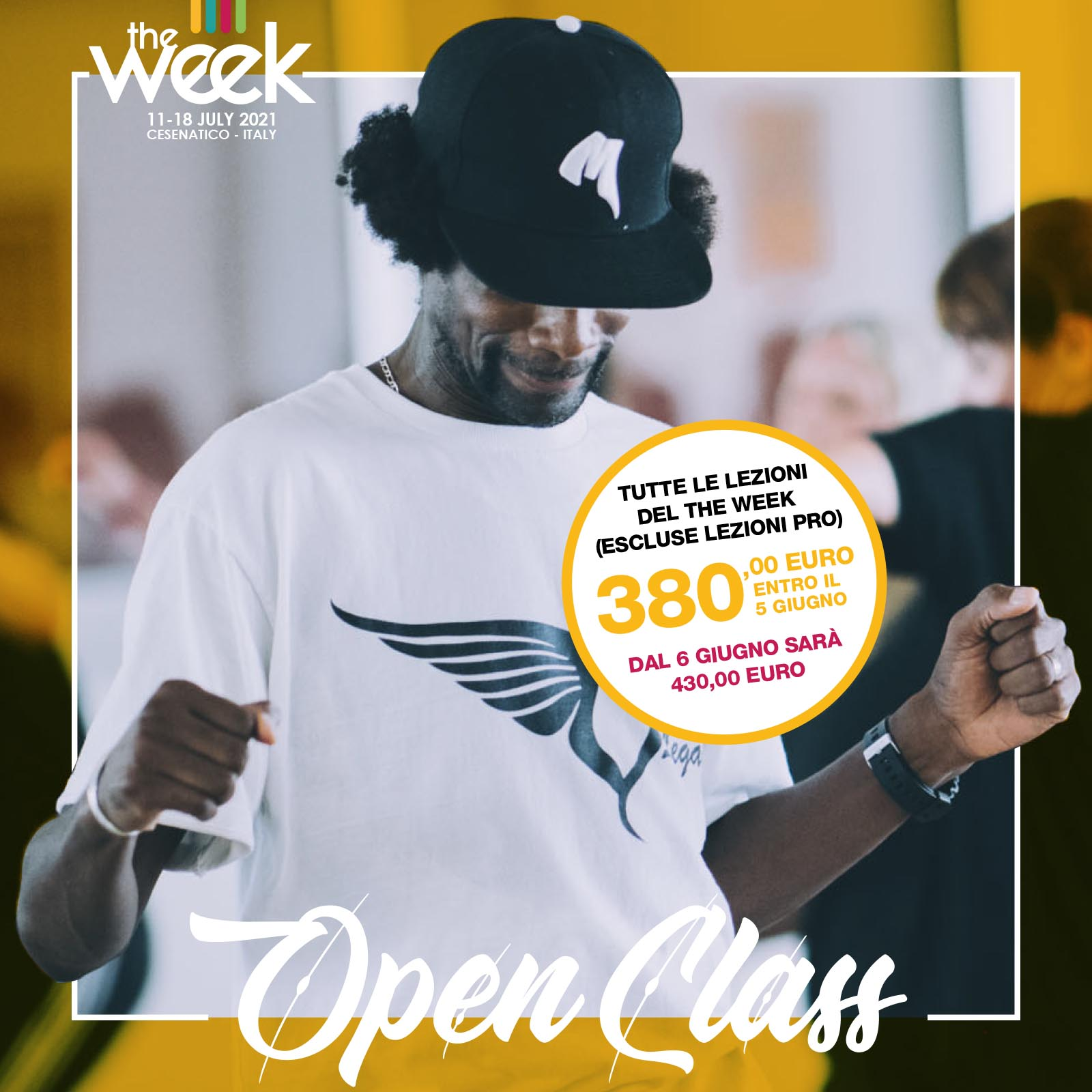 Open Class The Week The WeeKidz Street Dance Summer Camp Cesenatico Italy Workshop Stage Hip Hop Festival