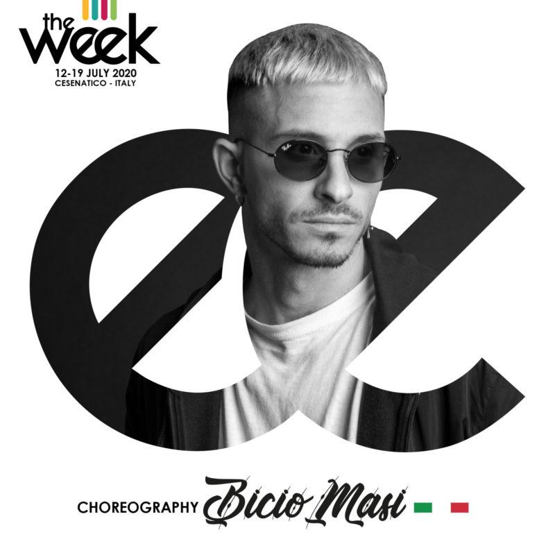 Bicio Choreography The Week The WeeKidz Street Dance Summer Camp Cesenatico Italy Workshop Stage Hip Hop Festival