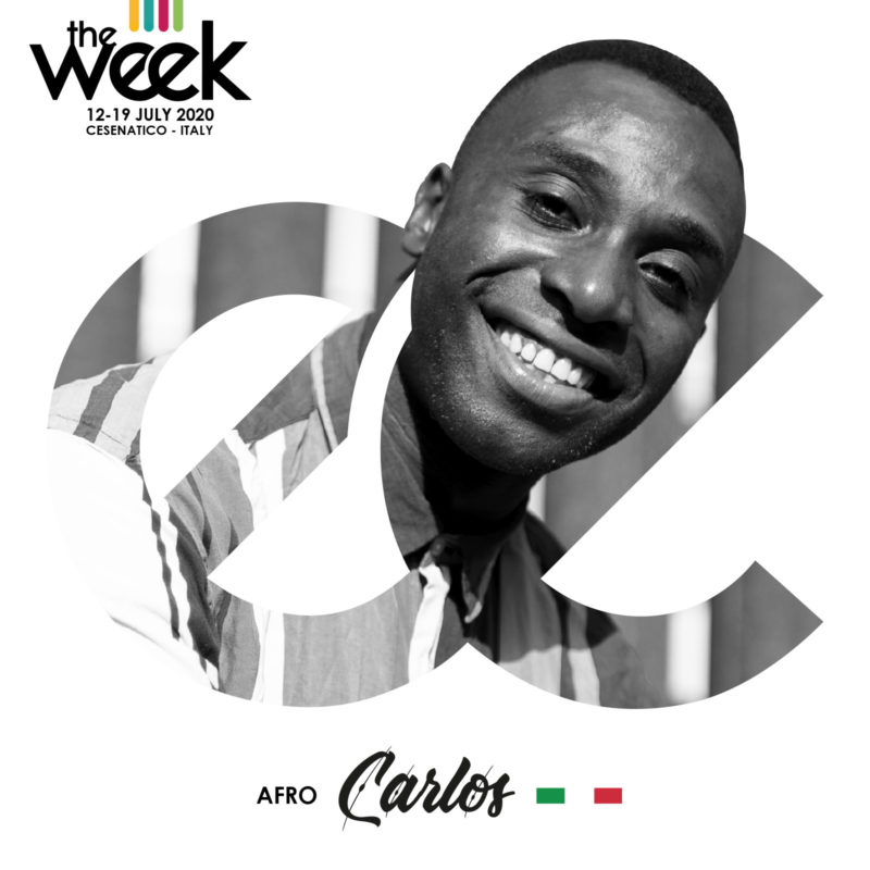 Carlos Afro The Week The WeeKidz Street Dance Summer Camp Cesenatico Italy Workshop Stage Hip Hop Festival