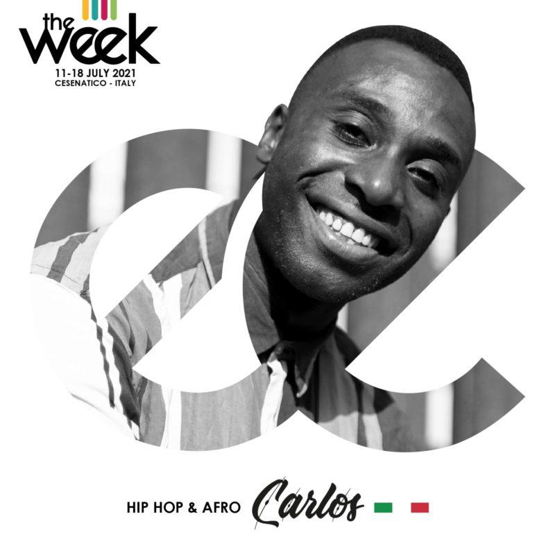 Carlos Kamizele Afro The Week 2021 Street Dance Summer Camp Cesenatico Italy Workshop Stage Hip Hop Festival