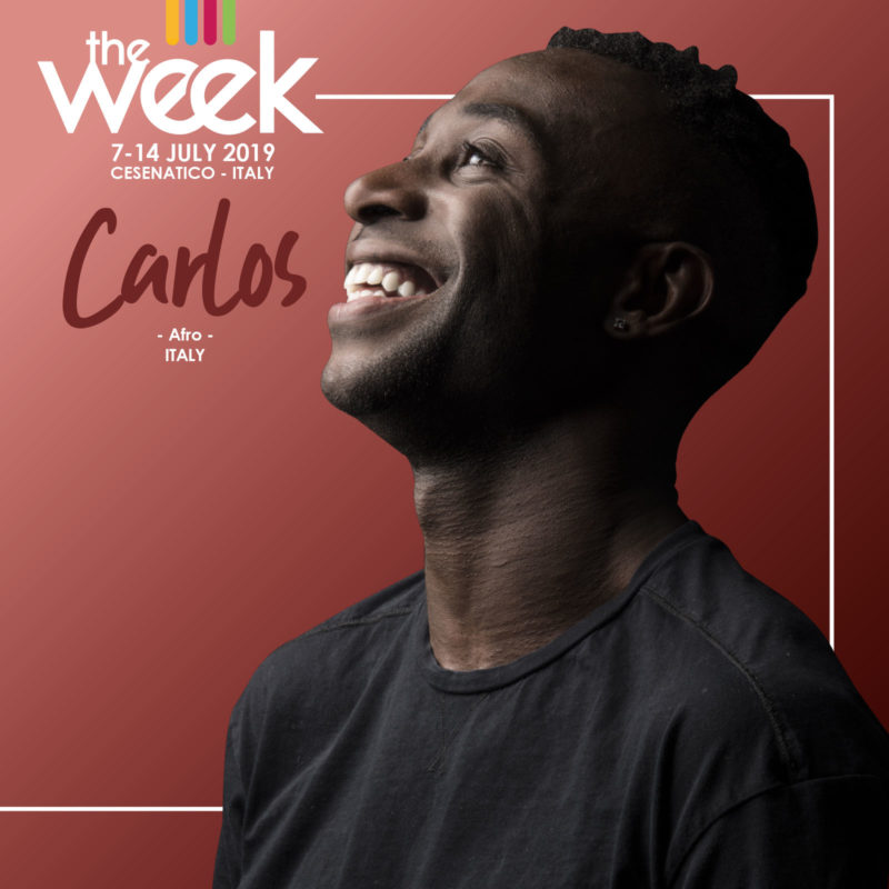 Carlos The Week 2019 Street Dance Summer Camp Cesenatico Italy Workshop Stage Hip Hop Festival