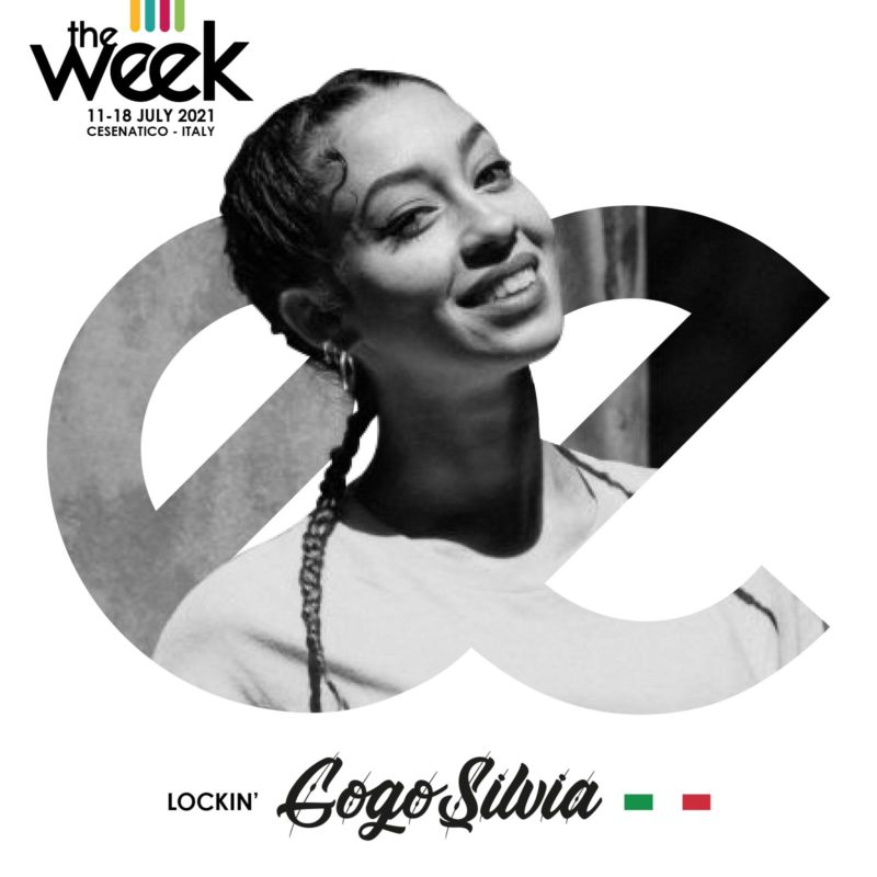Gogo Silvia Locking The Week 2021 Give It Up Street Dance Summer Camp Cesenatico Italy Workshop Stage Hip Hop Festival