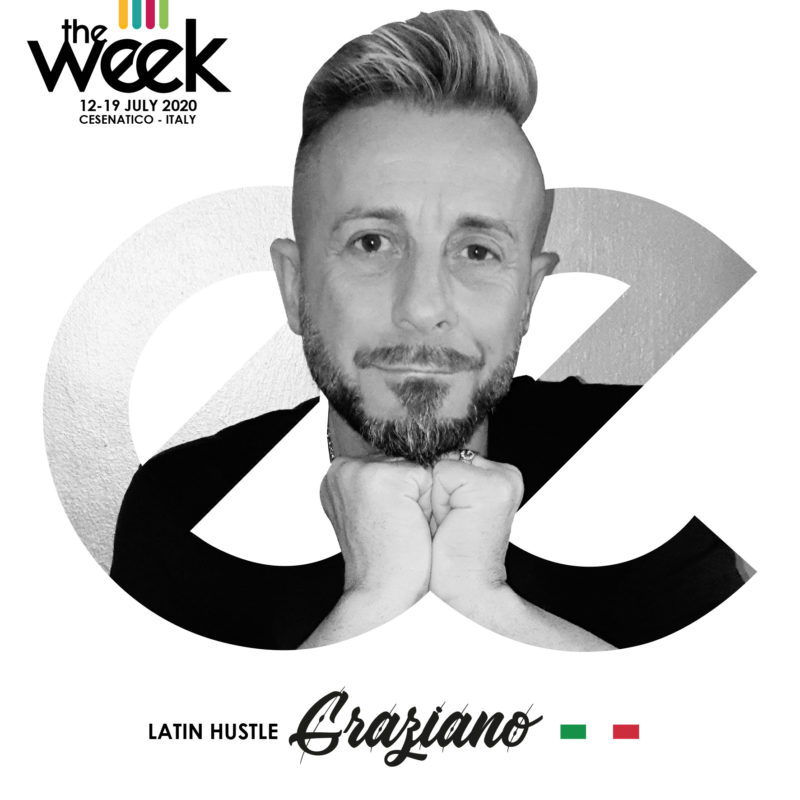 Graziano Boggiani Latin Hustle All Kind Of Hustle The Week The WeeKidz Street Dance Summer Camp Cesenatico Italy Workshop Stage Hip Hop Festival