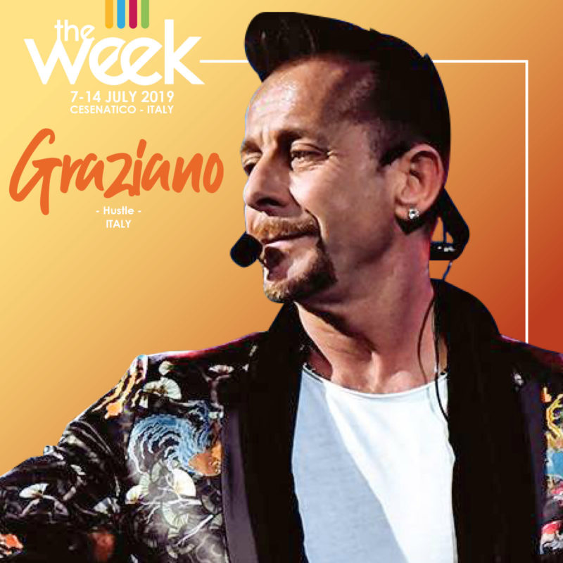 Graziano Hustle The Week 2019 Street Dance Summer Camp Cesenatico Italy Workshop Stage Hip Hop Festival