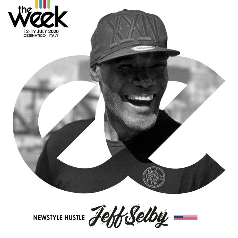 Jeff Selby NewStyle Hustle All Kind Of Hustle The Week The WeeKidz Street Dance Summer Camp Cesenatico Italy Workshop Stage Hip Hop Festival
