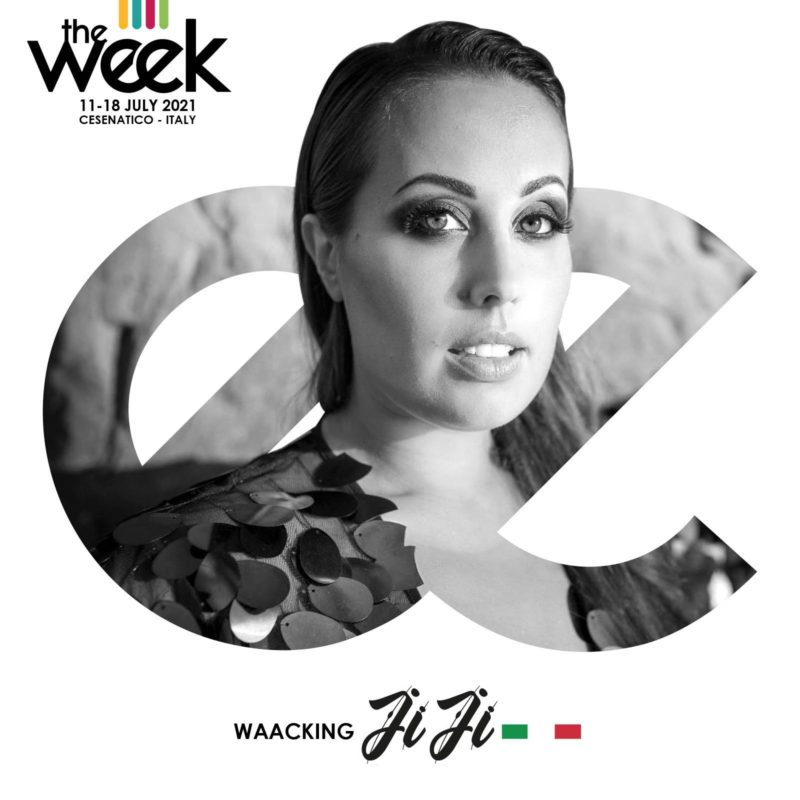 JiJi Waacking The Week 2021 Give It Up Street Dance Summer Camp Cesenatico Italy Workshop Stage Hip Hop Festival