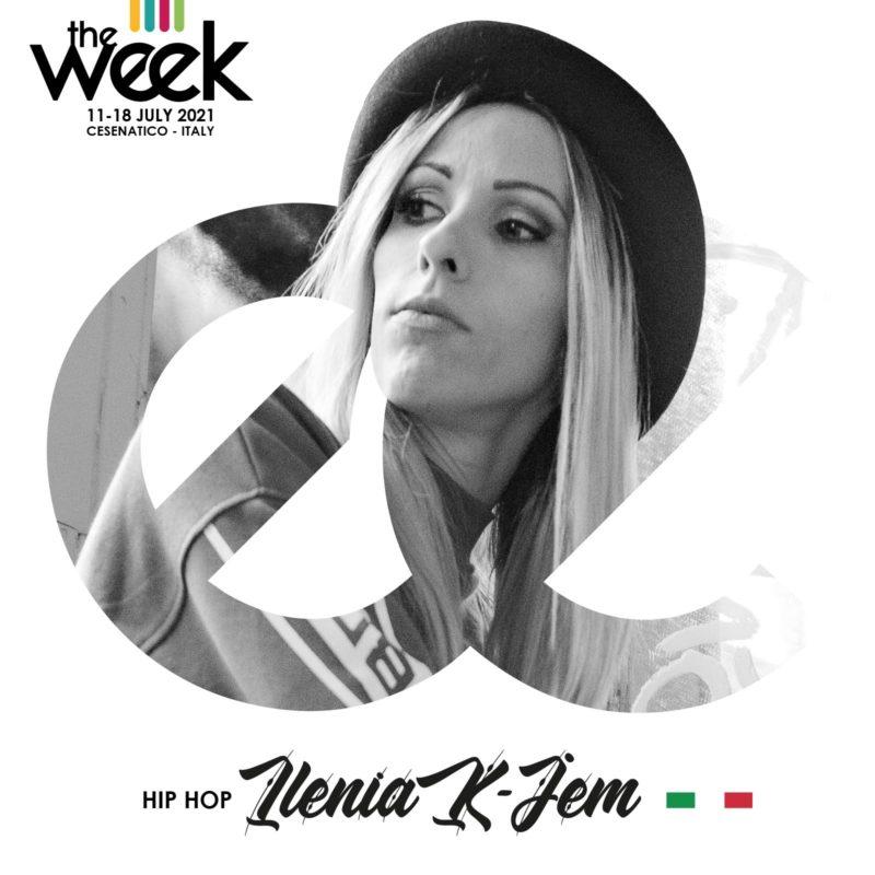 Ilenia K-Jem Kidz The Week 2021 Give It Up Street Dance Summer Camp Cesenatico Italy Workshop Stage Hip Hop Festival