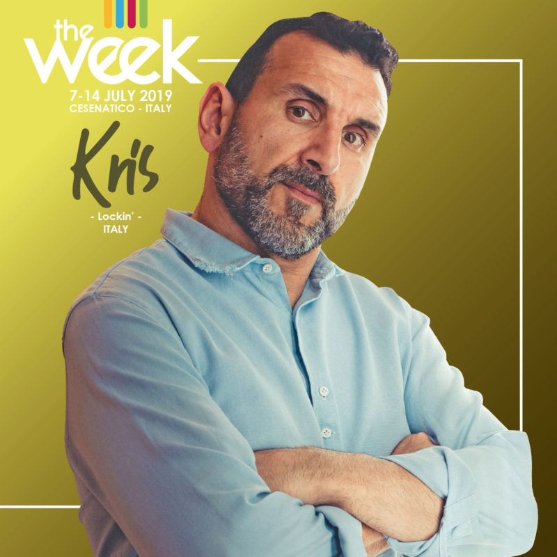 Kris Locking The Week 2019 Street Dance Summer Camp Cesenatico Italy Workshop Stage Hip Hop Festival