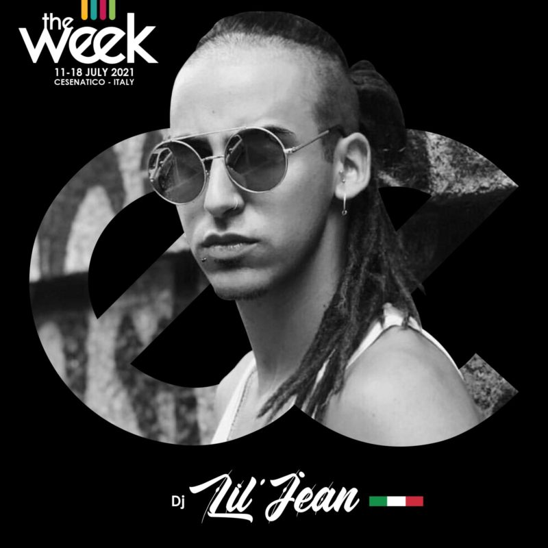 Dj Lil' Jean Give It Up Waacking House The Week The WeeKidz Street Dance Summer Camp Cesenatico Italy Workshop Stage Hip Hop Festival