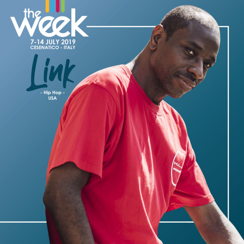 Link The Week 2019 Street Dance Summer Camp Cesenatico Italy Workshop Stage Hip Hop Festival