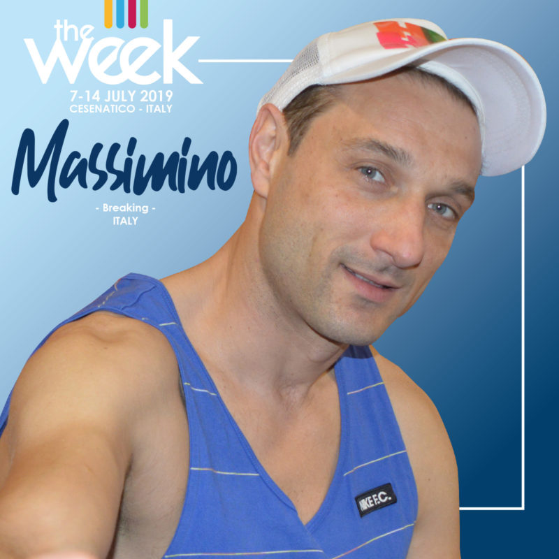 Massimino Breaking The Week 2019 Street Dance Summer Camp Cesenatico Italy Workshop Stage Hip Hop Festival