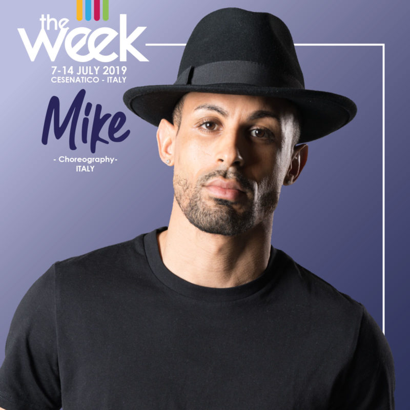 Mike Fields The Week 2019 Street Dance Summer Camp Cesenatico Italy Workshop Stage Hip Hop Festival
