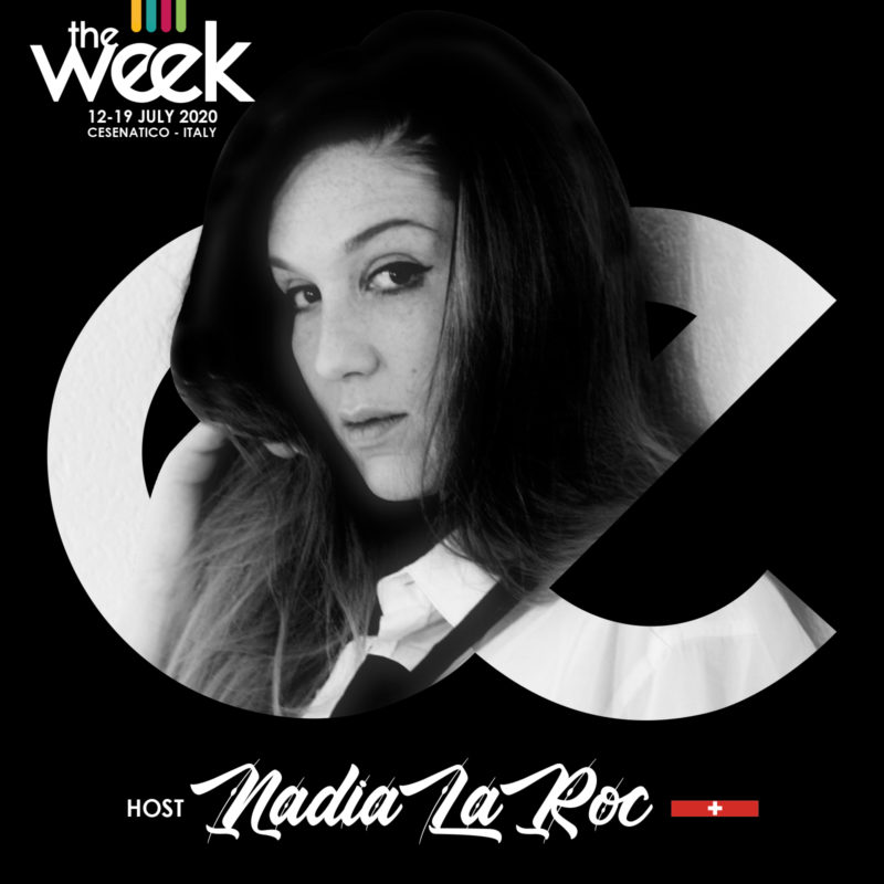 Nadia LaRoc host Flowoman Swiss Week The Week The WeeKidz Street Dance Summer Camp Cesenatico Italy Workshop Stage Hip Hop Festival