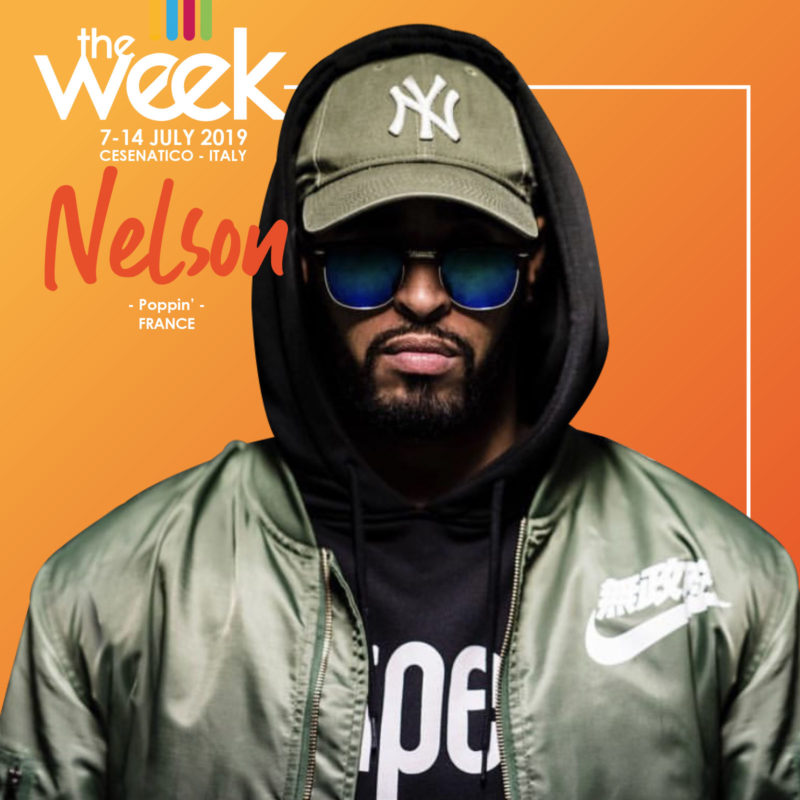 Nelson The Week 2019 Street Dance Summer Camp Cesenatico Italy Workshop Stage Hip Hop Festival
