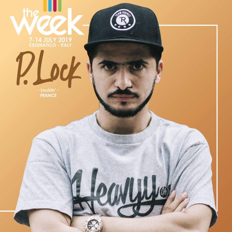 P.Lock The Week 2019 Street Dance Summer Camp Cesenatico Italy Workshop Stage Hip Hop Festival