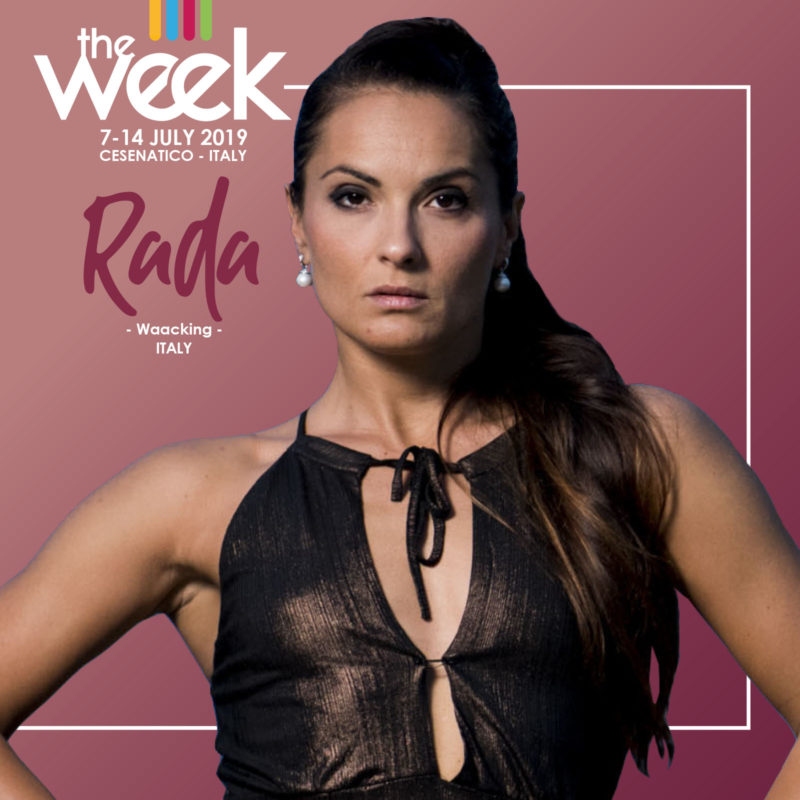 Rada Waacking The Week 2019 Street Dance Summer Camp Cesenatico Italy Workshop Stage Hip Hop Festival