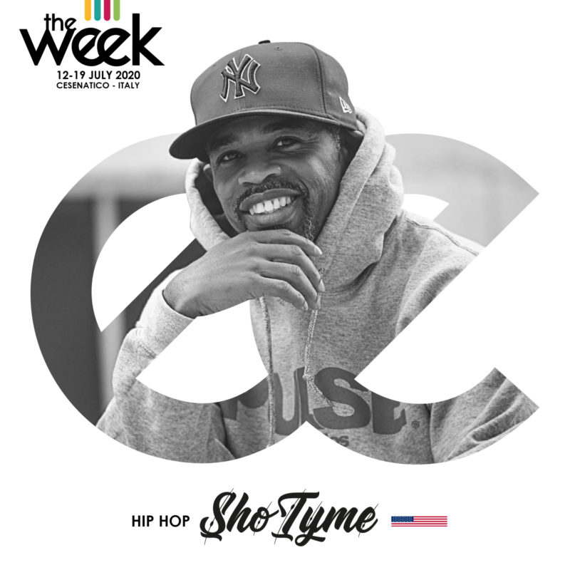 Sho Tyme The Week The WeeKidz Street Dance Summer Camp Cesenatico Italy Workshop Stage Hip Hop Festival