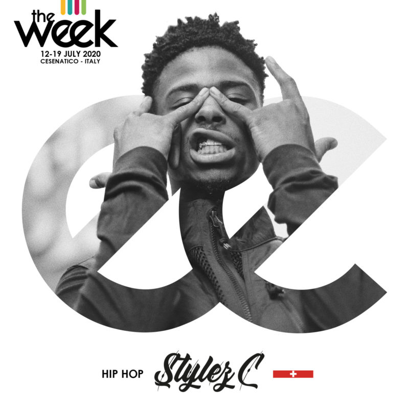 Stylez C The Week The WeeKidz Street Dance Summer Camp Cesenatico Italy Workshop Stage Hip Hop Festival