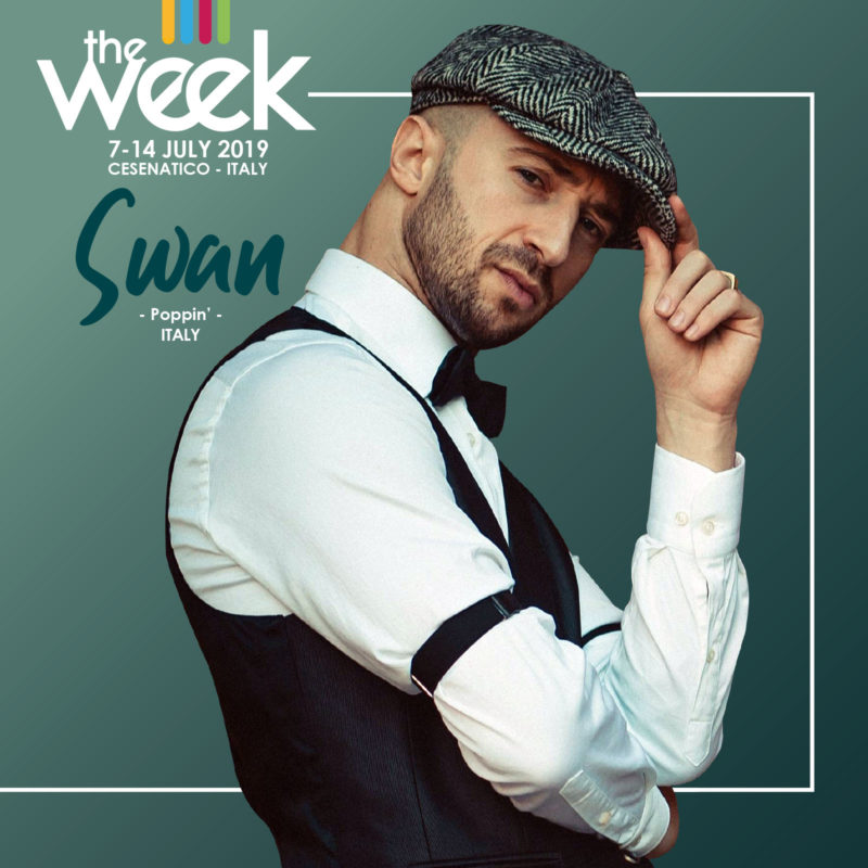 Swan The Week 2019 Street Dance Summer Camp Cesenatico Italy Workshop Stage Hip Hop Festival