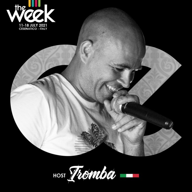 Tromba Host SFWT Street Fighters Give It Up The Week The WeeKidz Street Dance Summer Camp Cesenatico Italy Workshop Stage Hip Hop Festival