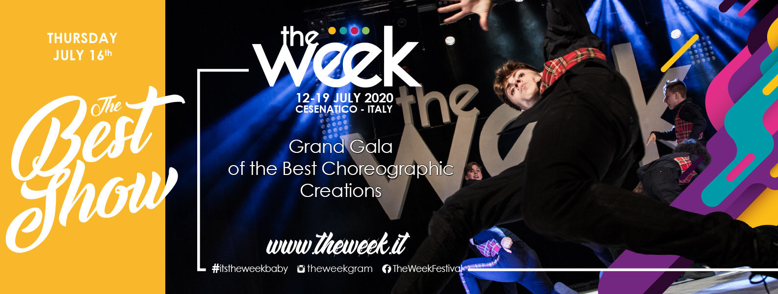 Best Show The Week The WeeKidz Street Dance Summer Camp Cesenatico Italy Workshop Stage Hip Hop Festival