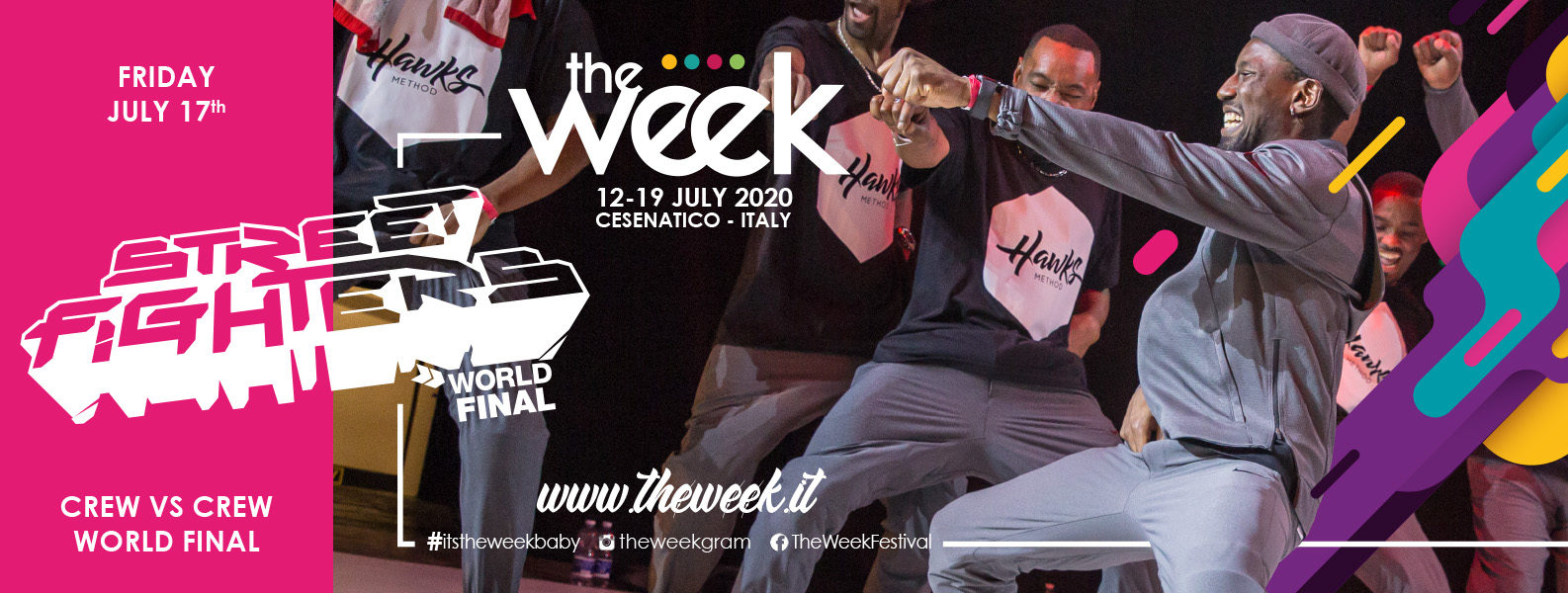 Street Fighters The Week The WeeKidz Street Dance Summer Camp Cesenatico Italy Workshop Stage Hip Hop Festival