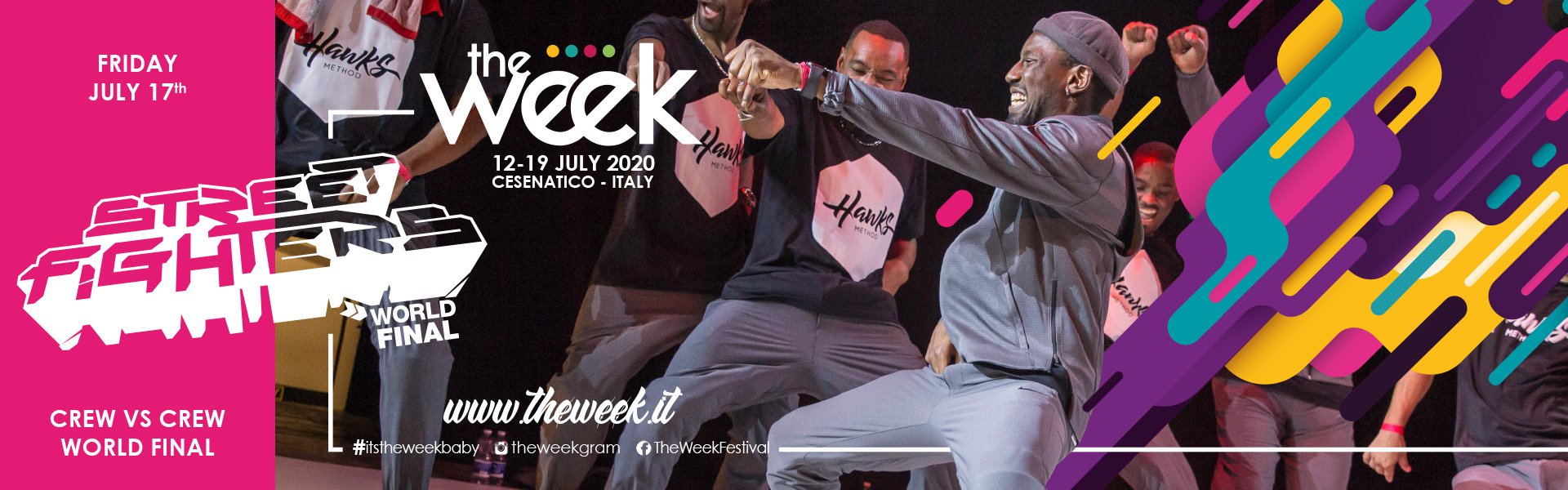 Street Fighters The Week The WeeKidz Street Dance Summer Camp Cesenatico Italy Workshop Stage Hip Hop Festival