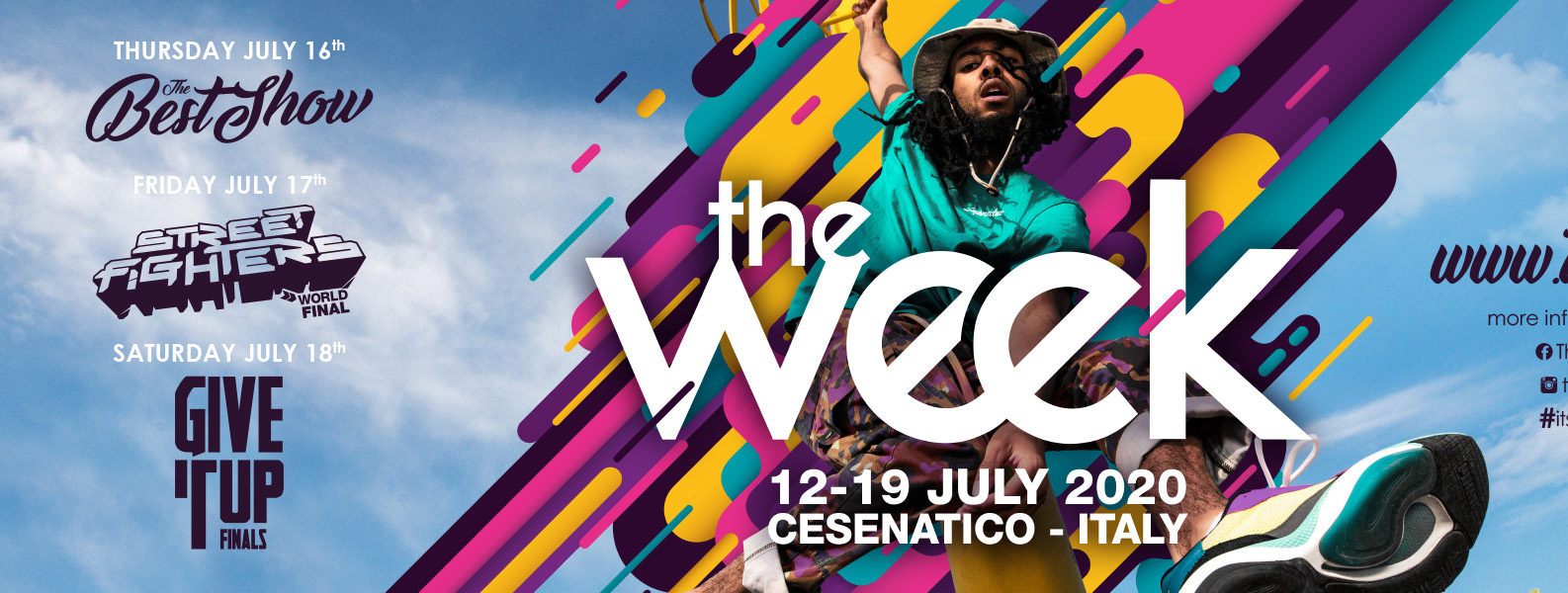 Tickets The Week The WeeKidz Street Dance Summer Camp Cesenatico Italy Workshop Stage Hip Hop Festival