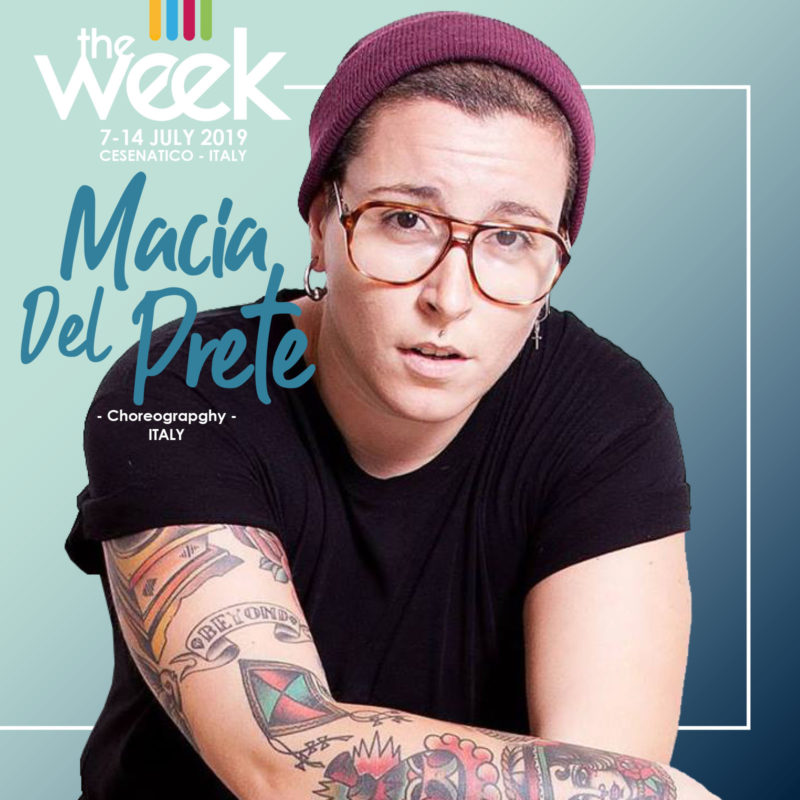 Macia Del Prete Choreography The Week 2019 Street Dance Summer Camp Cesenatico Italy Workshop Stage Hip Hop Festival