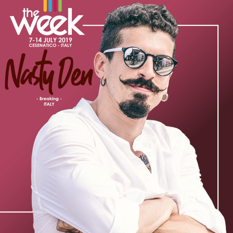 Nasty Den Breaking The Week 2019 Street Dance Summer Camp Cesenatico Italy Workshop Stage Hip Hop Festival
