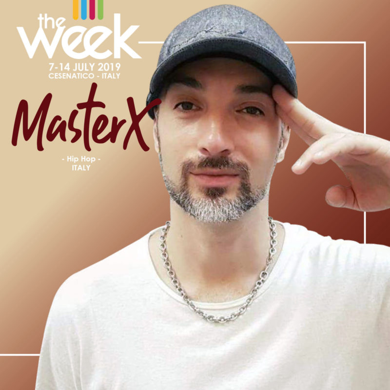 Master X The Week 2019 Street Dance Summer Camp Cesenatico Italy Workshop Stage Hip Hop Festival