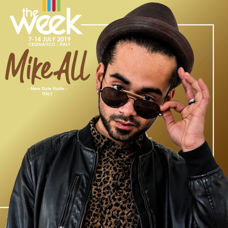 Mike All New Style Hustle The Week 2019 Street Dance Summer Camp Cesenatico Italy Workshop Stage Hip Hop Festival