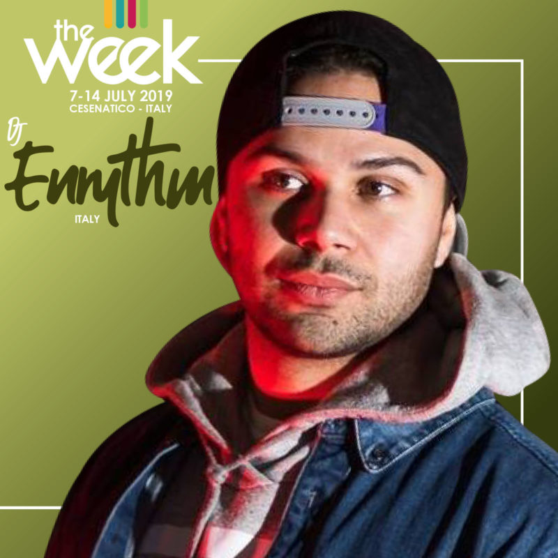 Dj Enrythm The Week 2019 Street Dance Summer Camp Cesenatico Italy Workshop Stage Hip Hop Festival Music