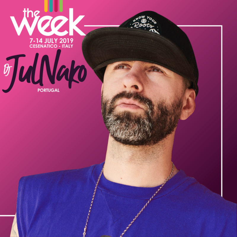 Dj JulNako The Week 2019 Street Dance Summer Camp Cesenatico Italy Workshop Stage Hip Hop Festival Music