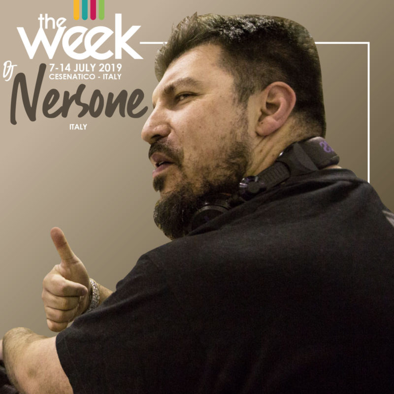 Dj Nersone The Week 2019 Street Dance Summer Camp Cesenatico Italy Workshop Stage Hip Hop Festival Music