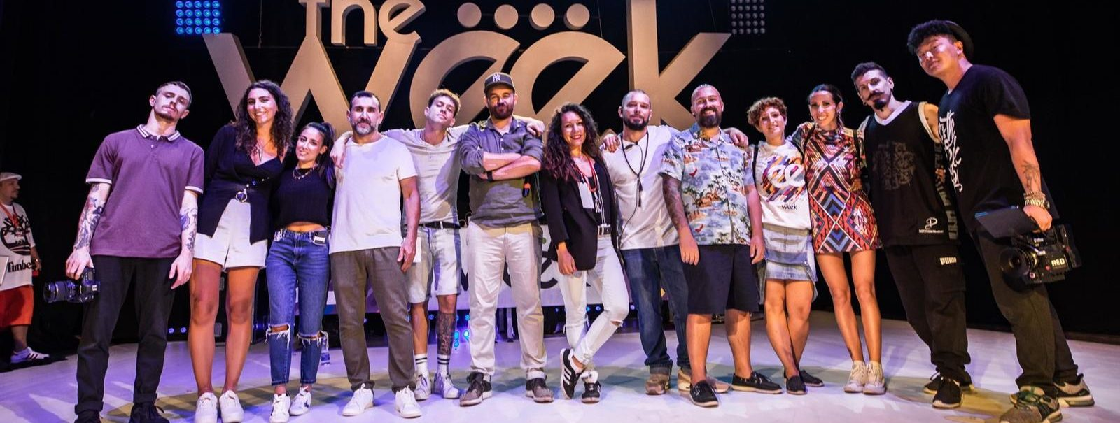 The Week 2019 Street Dance Summer Camp Cesenatico Italy Workshop Stage Hip Hop Festival