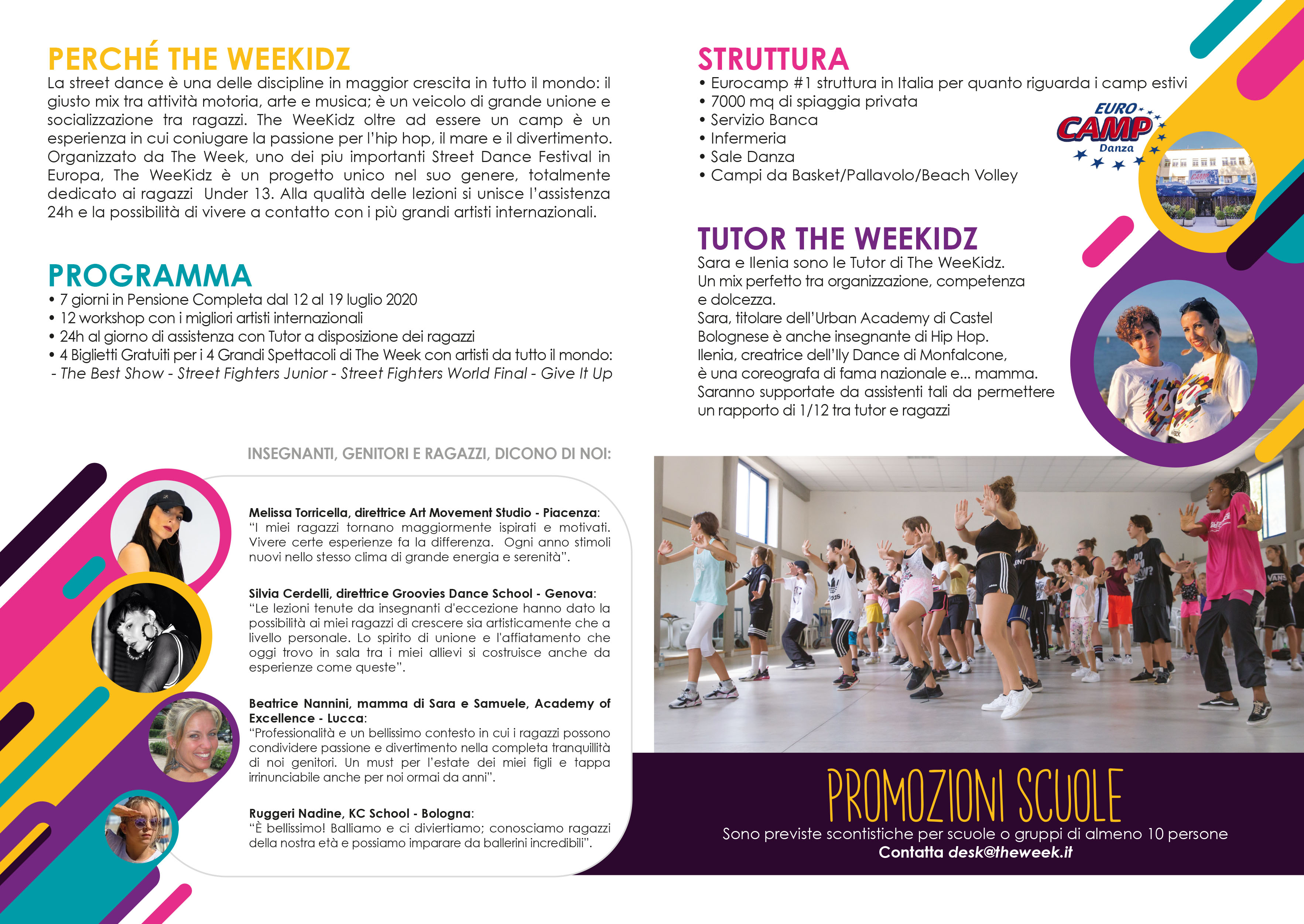 The Week Street Dance Summer Camp Cesenatico Italy Workshop Stage Hip Hop Festival