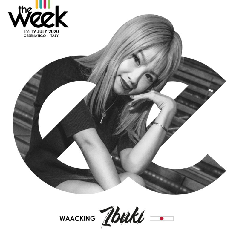 Ibuki Waacking The Week The WeeKidz Street Dance Summer Camp Cesenatico Italy Workshop Stage Hip Hop Festival