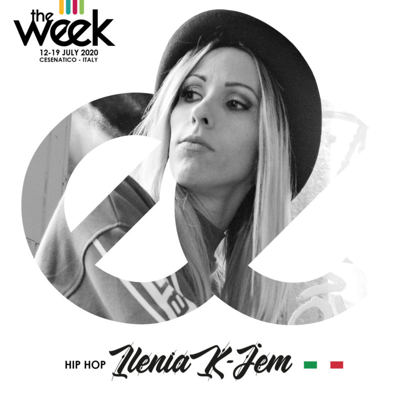 Ilenia K-Jem The Week The WeeKidz Street Dance Summer Camp Cesenatico Italy Workshop Stage Hip Hop Festival