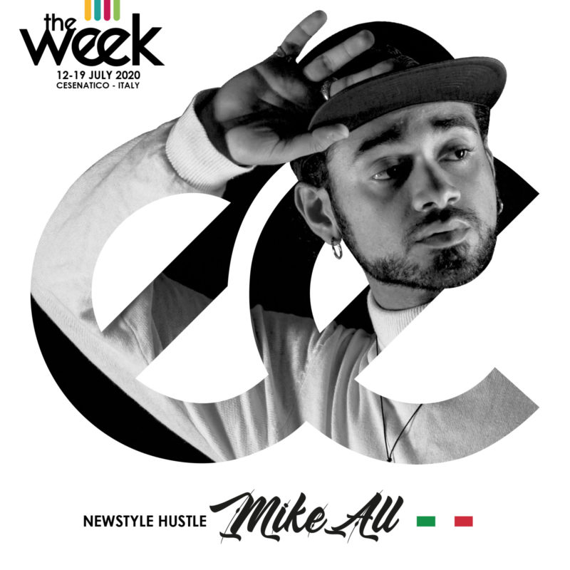MikeAll NewStyle Hustle All Kind Of Hustle The Week The WeeKidz Street Dance Summer Camp Cesenatico Italy Workshop Stage Hip Hop Festival