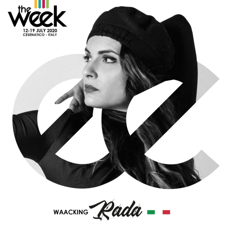 Rada Waacking The Week The WeeKidz Street Dance Summer Camp Cesenatico Italy Workshop Stage Hip Hop Festival