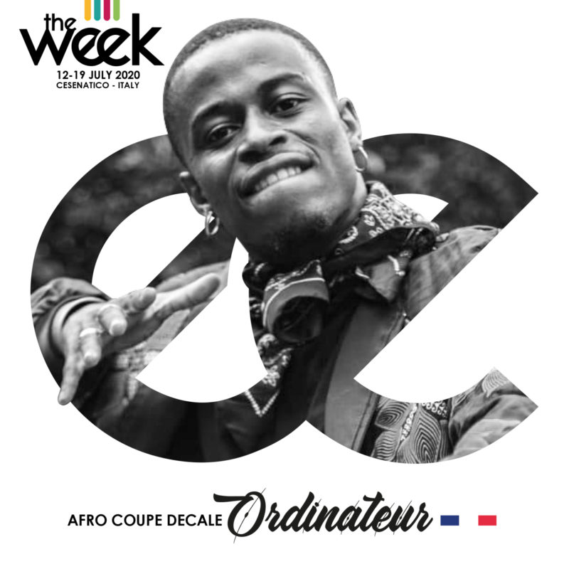 Ordinateur Afro Coupe Decale The Week The WeeKidz Street Dance Summer Camp Cesenatico Italy Workshop Stage Hip Hop Festival